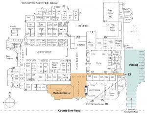 Westerville North High School Building Map