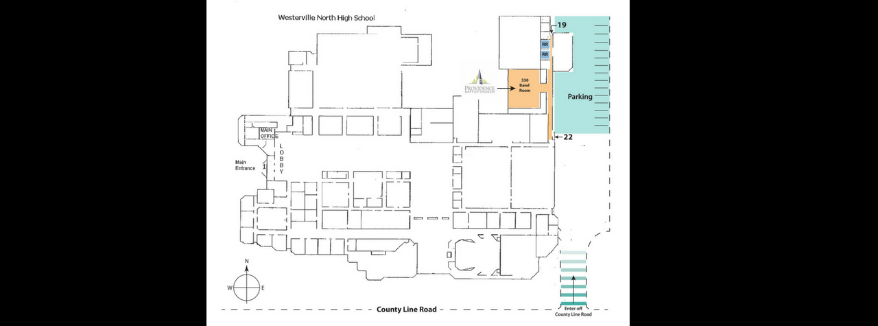 Entry Map to WNHS